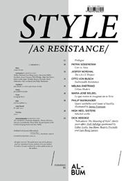 Style As Resistance